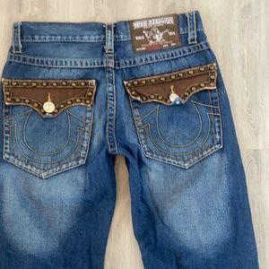 True Religion Billy Super T Straight leg jeans 34